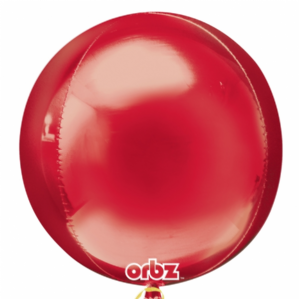 Red Orbz Balloons - Orbz Balloons Wholesale